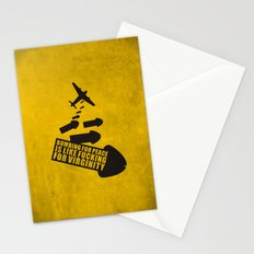 Bombing for peace... Stationery Cards