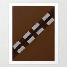 Star Wars - Chewbacca Art Print