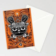 Day Of The Dead Bunny Celebration Stationery Cards