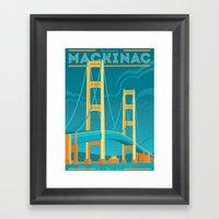 The Mighty Mac! Framed Art Print