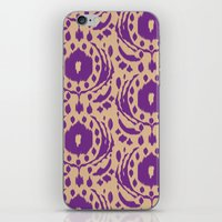 Flower Ikat iPhone & iPod Skin