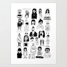 PEEPZ Art Print