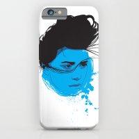 Black, blue & white I iPhone 6 Slim Case