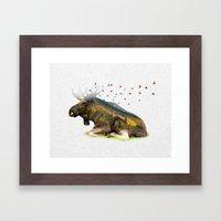 Wild I Shall Stay   Moose Framed Art Print
