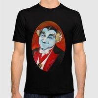 The Munsters Grandpa Mun… Mens Fitted Tee Black SMALL