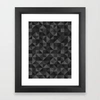 Shapes 003 Ver 3 Framed Art Print