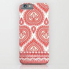 Decorative Red Slim Case iPhone 6s