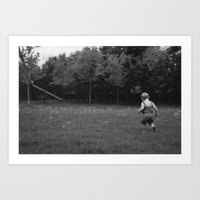 Dandy Field Art Print