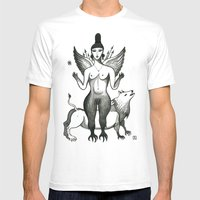 Ishtar, Queen Of The Nig… Mens Fitted Tee White SMALL