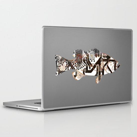Digital Fish 2 Laptop & iPad Skin