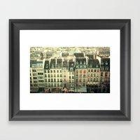 Paris - The Marais Framed Art Print