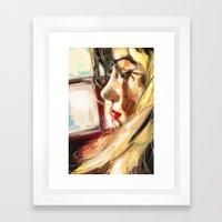 Antonella Framed Art Print