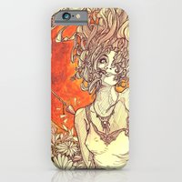 iPhone Cases featuring Psyche & Cupid by Ryan JP