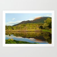 Reflections On Loch Etiv… Art Print