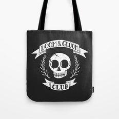 Doom & Gloom Club (grunge) Tote Bag