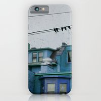 iPhone & iPod Case featuring Blue by The Strange Days Of Gothicolors