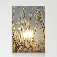 Field Of Glitter Stationery Cards
