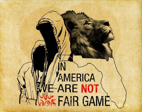 Fair Game Art Print