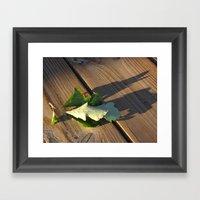 Leaves Me This Resting P… Framed Art Print