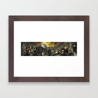3:33 - In The Middle of Infinity (Panorama) Framed Art Print