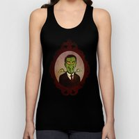 Prophets of Fiction - H.P. Lovecraft /Cthulhu Unisex Tank Top