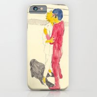 iPhone & iPod Case featuring Lisa/kei/milhouse/kaneda - Bartkira by withapencilinhand