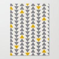 Straight and Narrow Canvas Print