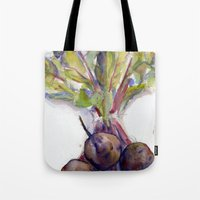 Purple Beets Tote Bag