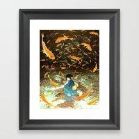HANABI Framed Art Print