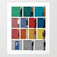 Doctor Who? Art Print