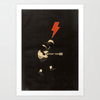 ACDC - For Those About T… Art Print