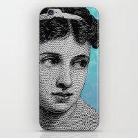 Seductress Blue iPhone & iPod Skin