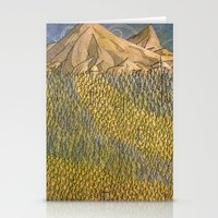 Erebor, The Lonely Mount… Stationery Cards