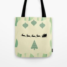 Retro Christmas Tote Bag