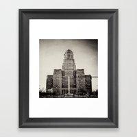 Down Town Buffalo NY Cit… Framed Art Print