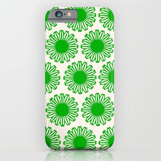 Vintage Flower_Green iPhone & iPod Case