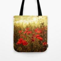 Poppy Glow Tote Bag
