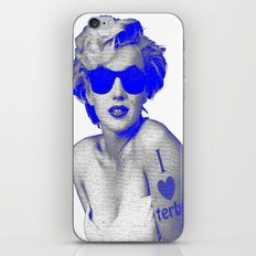 Mariloner iPhone & iPod Skin