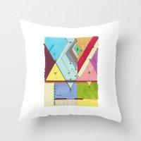 Prism # 1 Throw Pillow