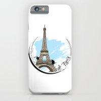 iPhone & iPod Case featuring de Paris by Hande Unver