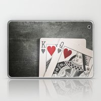 King and Queen of Hearts Laptop & iPad Skin