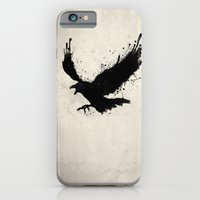 iPhone & iPod Case featuring Raven by Nicklas Gustafsson