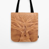 Paths like Branches Tote Bag