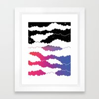 Midnight Glow Framed Art Print