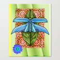Dragonfly to Your Dreams Canvas Print