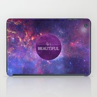 Life Is Beautiful iPad Case