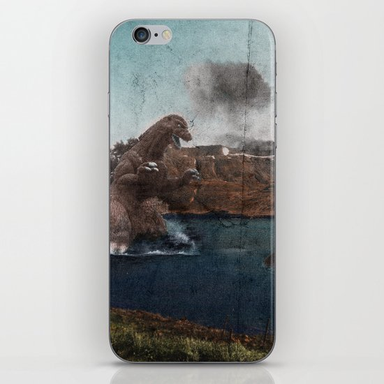 King Godzilla iPhone & iPod Skin