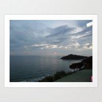 Gaeta Sea View Art Print