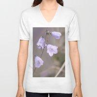Lilac Bells Unisex V-Neck