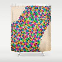 - baby run - Shower Curtain